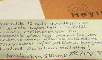 «Вы перенесли сюда ненавистническую политику Турции. Вы нас опозорили»
