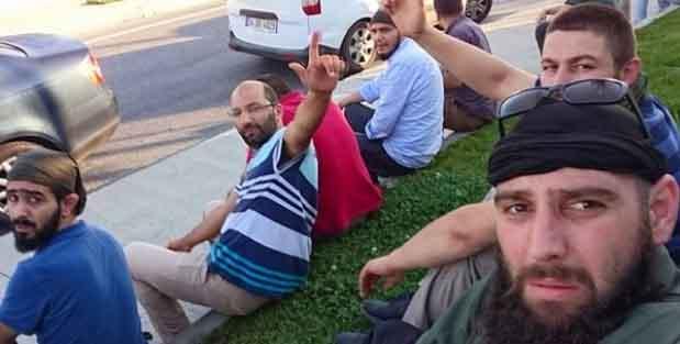 Секретные военизированные подразделения на местах столкновений 15 июля