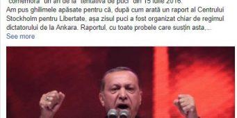 Румынская газета отказалась от рекламы, прославляющая режим Эрдогана