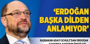 Шульц: Эрдоган, кажется, не понимает другого языка