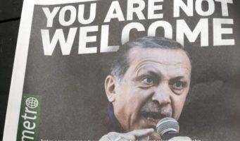Газета «Metro» в Нью-Йорке: «Эрдоган, проваливай!»