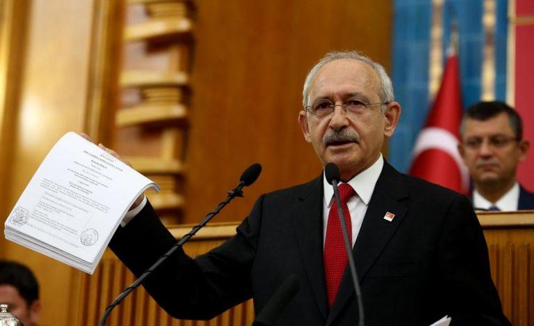 CHP lideri banka dekontlarını açıkladı, 'Erdoğan istifa' sesleri yükseldi