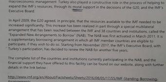 МВФ опроверг слова Эрдогана о том, что «МВФ просил у Турции кредит на 5 млрд долларов»