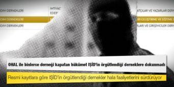 В ходе режима чрезвычайного положения в Турции были закрыты тысячи ассоциаций. Однако ассоциации, имеющие отношение к ИГИЛ, продолжают работать