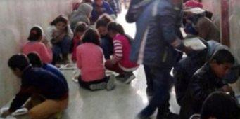 Проблемы образования в Турции. Почему эти дети едят, сидя на бетонном полу?