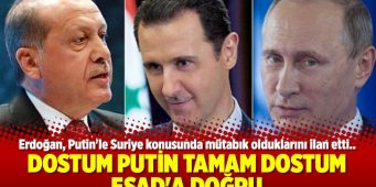 С Путиным помирился, на очереди Асад