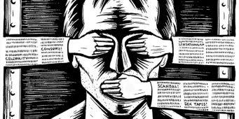 Турция оказалось самой слабой страной в области свободы слова