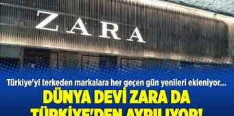 Ко всемирным брендам, покинувшим рынок Турции, присоединилась Zara