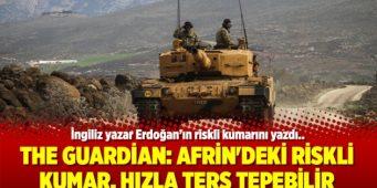 The Guardian: Рискованная игра в Африне может быстро обернуться против Эрдогана