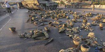 Остается неизвестным количество оружия, пропавшего в ночь попытки переворота