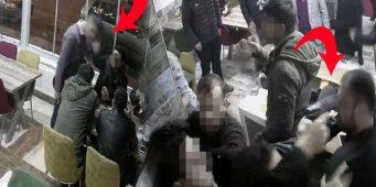 Полицейский, недовольный обслуживанием, приставил пистолет к голове владельца кафе