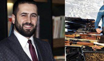 Снимки зята проповедника Джуббели Ахмета с оружием вызвали неодобрительную реакцию