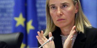 Могерини заявила обобеспокоенности ЕСдействиями Турции насевере Сирии