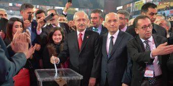 Лидер главной оппозиционной партии Турции Кылычдароглу переизбран на этот пост