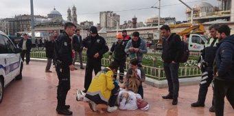 В Турции мужчина поджег себя