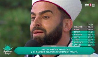 Турецкий имам с выщипанными бровями стал звездой соцсетей
