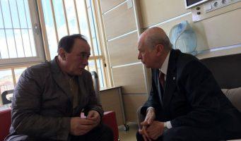 Политик Бахчели встретился с преступником Чакиджи