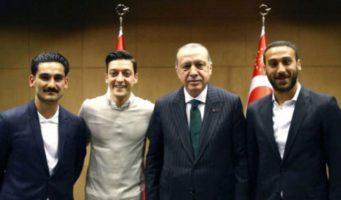 Глава Немецкого футбольного союза осудил встречу двух игроков сборной с Эрдоганом