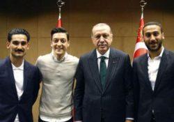Жители Германии единодушно осудили поступок футболистов Озила и Гюндогана