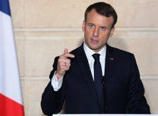 Макрон: Позиция Турции не позволяет продолжать переговоры о её вступлении в ЕС