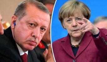 Приглашала ли Меркель Эрдогана в Германию?