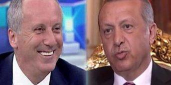 Какого кандидата в президенты больше смотрят по телевизору: Индже или Эрдогана?
