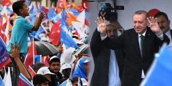 На предвыборный митинг Эрдогана в Малатье рабочих доставляли насильно