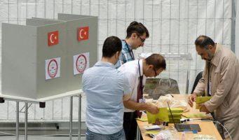 Скандал на избирательном участке в Бельгии