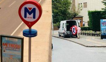 После выборов знаки «несуществующего» метро поспешили убрать