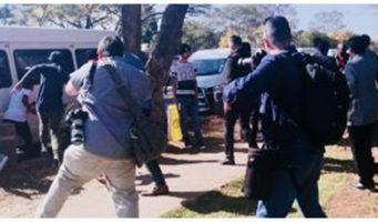 Охрана Эрдогана избила протестующих в ЮАР