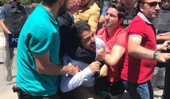 Полиция разогнала родственников жертв аварии на шахте Сома