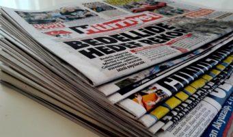 За пять лет тираж газет В Турции сократился на 32%