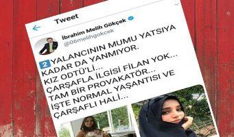 Бывший мэр Анкары назвал невинную девушку провокаторшей