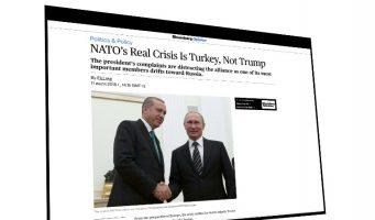 НАТО следует беспокоиться об Эрдогане, а не о Трампе