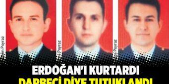 Пилот, спасший Эрдогана, арестован за участие в путче