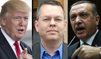 Эрдоган предложил прекратить расследование в отношении турецкого Halkbank в обмен на освобождение американского пастора. Трамп отказал