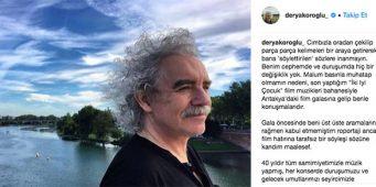 Композитор Дерья Кёроглу об интервью проправительственной газете: Не верьте, мои слова исказили