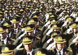 40 тысяч военных уволено за два года в Турции
