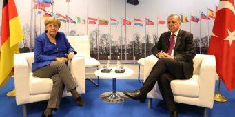 Опрос: Немцы против визита Эрдогана в Германию