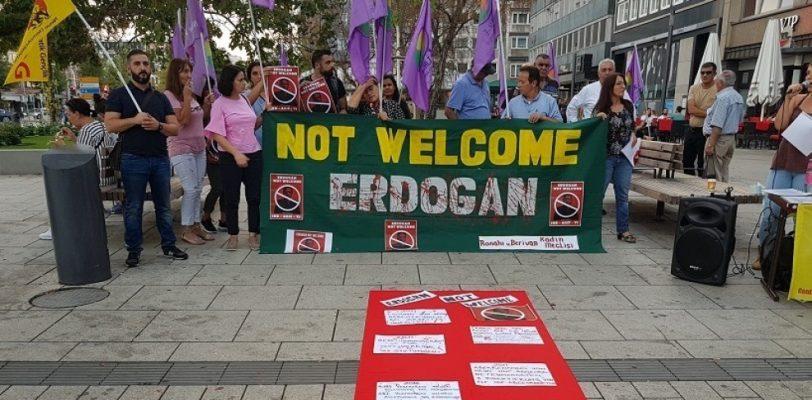 В Германии прошли массовые демонстрации против политики Эрдогана