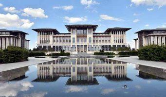 Эрдоган убеждает население покупать товары местного производства, а сам построил президентский дворец из индийского мрамора