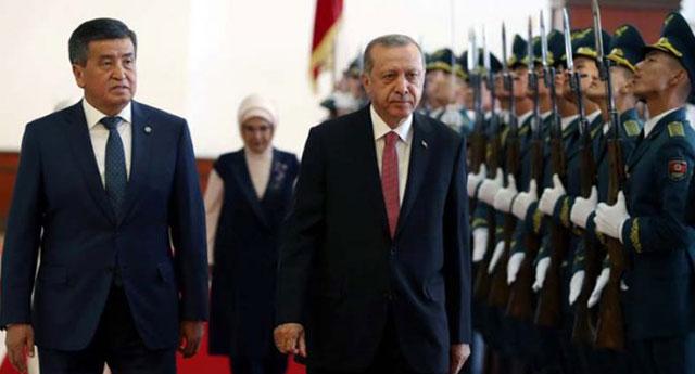 Эрдоган передал Кыргызстану список 130 турецких граждан