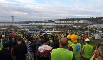 Турецкие строители выступили против проекта Эрдогана