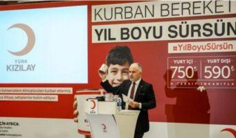 Скандал с жертвенным мясом в Красном полумесяце Турции