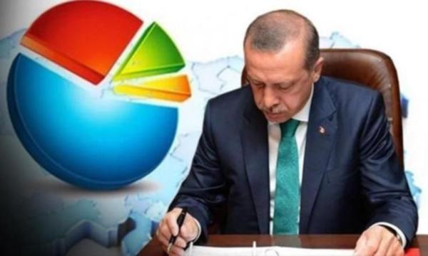 В Турции сократилось число граждан, одобряющих работу Эрдогана