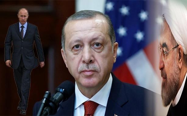 «Эрдоган сел за один стол с лидерами России и Ирана, однако мысленно был с США»