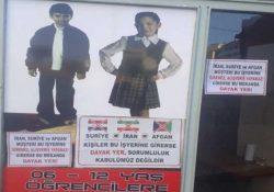 Владелец магазина повесил расистское объявление «Иранцам, сирийцам и афганцам не входить. Будут побиты»