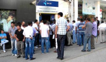 Реальное количество безработных в Турции составляет 6,3 млн человек, что в два раза больше официальной статистики