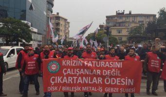 Рабочие заявили протест: Не желаем расплачиваться за кризис