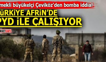Турция сотрудничает с PYD в Африне?